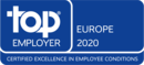 Top Employer Eurooppa 2020