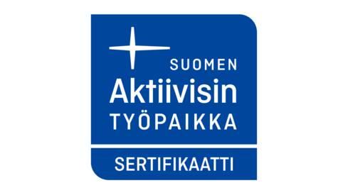 Suomen aktiivisin työpaikka -sertifikaatti
